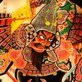 桔梗野ねぷた友の会 鏡絵:『津軽為信出陣の図』