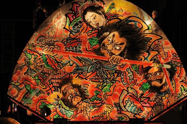 弘前市医師会 鏡絵:三国志『呂布の出城』
